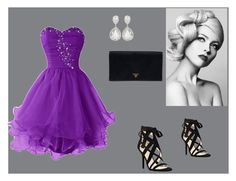 """""""Princess <3"""" by beslija-indira ❤ liked on Polyvore featuring Nine West, Prada, women's clothing, women, female, woman, misses and juniors"""