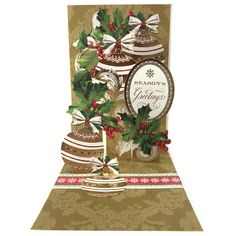 HSN October 7 2015 | Preview 3 | Anna's Blog | Christmas Pop-Up Card Kit