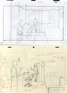 Animation Storyboard, Storyboard Artist, Animation Reference, Drawing Reference, Drawing Techniques, Drawing Tips, Background Drawing, Background Ideas, Comic Book Layout