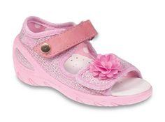 ›Kapcie›BEFADO 433P020 SUNNY róż brokat›Buciki dla dzieci : buty dziecięce Bartek - sklep internetowy
