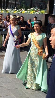 Countess Sophie and Princess Takamado of Japan.