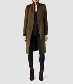 Womens Isara Coat (Ink) - product_image_alt_text_1