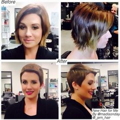 Very Short Haircut for Woman: Pixie Hairstyles with Side Bangs