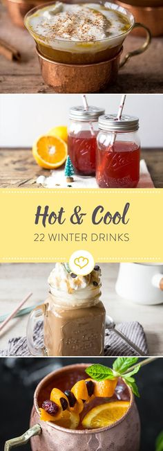 22 hot and cold drinks for winter - Drink Winter Desserts, Winter Drinks, Winter Food, Fun Drinks, Cold Drinks, White Cranberry Juice, Cherry Vodka, Premium Vodka, Lime Soda