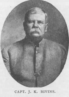J.K. (James Knox) Bivins, Company B, 7th Texas Infantry