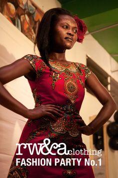 Model In RWANDA CLOTHING