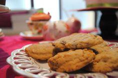 Receta para Sugartremens de cookies de manzana, canela y avellanas!
