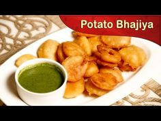Batata Bhajiya | How To Make Batata Bhajiya | Potato fritters | Batata Bhajiya Recipe | Street Food - YouTube