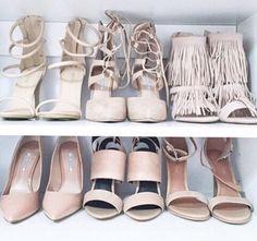Essentials #heels #nudes