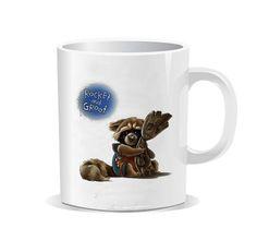 Guardians the galaxy groot rocket raccoon Ceramic Mug