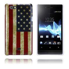 Flag (Stars & Stripes) Sony Xperia Miro Case