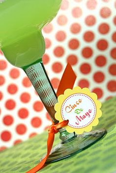 {Free Printable} Inspired by Martha ~ Cinco De Mayo Fiesta Party Circles! | The TomKat Studio