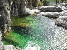 Corsica - Cascades et Canyons - Ziocu - Ruisseau de Ziocu, Canyon de Soccia Commune : Soccia.(Corse du Sud)