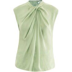 Diane Von Furstenberg Derah blouse (2.257.445 IDR) found on Polyvore
