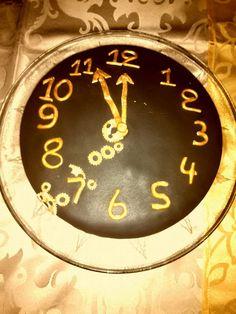 Clock new year