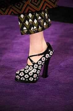 Prada || shoes || fall 2012 2013  Cool Chic Style Fashion by karin