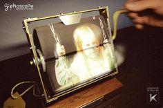 Cinema frame - de volta ao passado - brinquedo fotográfico