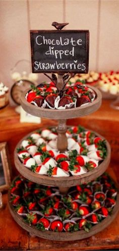Wedding reception ideas on a budget - wedding dessert table ideas for chocolate . Wedding reception ideas on a budget – wedding dessert table ideas for chocolate covered strawberr Cheap Backyard Wedding, Wedding Favors Cheap, Cheap Wedding Ideas, Backyard Weddings, Cheap Party Favors, Backyard Bar, Garden Weddings, Backyard Ideas, Budget Wedding Desserts