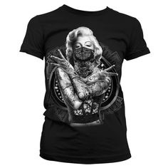 Marilyn Monroe Sexy Badass Outlaw Lady T-Shirt (Black)  Who wants to be an outlaw? If as badass and sexy as our Marilyn Monroe, I know I would. So prepare to run for your life while cops chase after you.    Price: €24.95  http://www.clarabellatattoowear.com/lady/t-shirts/marylin-monroe/marilyn-monroe-sexy-badass-outlaw-lady-t-shirt-black/   Don't you love discounts? Don't miss out! Claim YOUR rocking 15% discount code: http://eepurl.com/boSy7H
