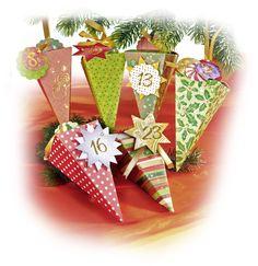 Unsere neuen Adventskalender bestehen aus vorgestanzten Schachteln zum Zusammenstecken. Sie sind ideal für kleine Geschenke und Aufmerksamkeiten während der Adventszeit geeignet. Mehr auf www.folia.de