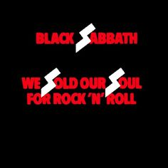 We sold our soul
