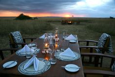 Part of National Geographic's Private Kenya Tour - Just north of Kenya's famous Masai Mara National Reserve, Mara Plains Camp recalls the elegant safari tents of centuries past, set on a private conservancy where the wildlife is plenty and the crowds are nowhere to be found.