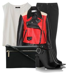 """""""#37"""" by wrecklesskind ❤ liked on Polyvore featuring rag & bone, Acne Studios, Victoria Beckham and Alexander Wang"""