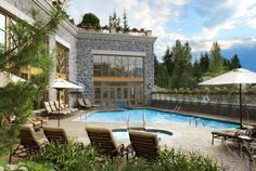 The Westin Resort & Spa, Whistler Outdoor Pool