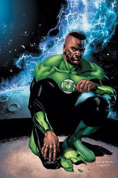Green Lantern John Stewart by Tyler Kirkham