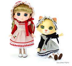 Nikki cat & Odeco chan