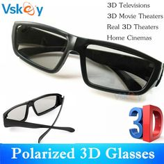 VSKEY 6pcs Polarized Passive 3D Glasses For Passive 3D Televisions TV RealD Movies Home Cinema Theaters System  Price: 19.00 & FREE Shipping  #tech|#electronics|#gadgets|#lifestyle 3d Cinema, Cinema Theatre, Movie Theater, 3d Television, 3d Film, 3d Tvs, 3d Glasses, Home Tv, Hifi Audio