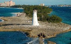 Nassua, Bahamas   The light house is the entrance to the Bahama islands (beautiful sight)