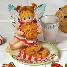santa cookies fairy