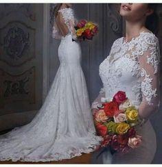 Mariage 2018, Mariage Secret, Robes Mariage, Robe De Mariee Sirene, Mariee  Robe, Robe Marriées, Dentelle Robe, Sirene Dentelle, Mariage Custom