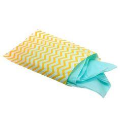 Yellow Chevron Gift Bag (Medium)