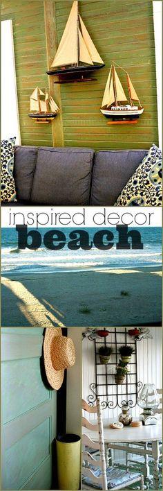 Inspiration from the beach! -#coastaldecor #beachinspired #coastal JANE for you