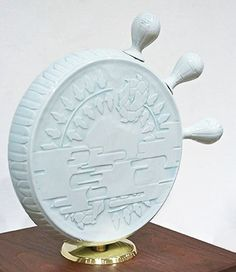 "Ayaka Terajima / sculpture works / 2014 ""POTTY"" #sculpture #art #ceramic #porcelain #potter #collage"