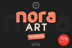 A font family based on layer combinations