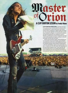 Suns burned out, but moons? Moons were forever. — The last show of Cliff Burton with Metallica . Cliff Burton, Metallica Art, El Rock And Roll, Jason Newsted, Grunge, Tribute, James Hetfield, Rockn Roll, Thrash Metal