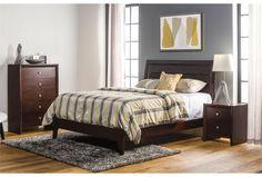 Chad Queen Platform Bed for guest bedroom