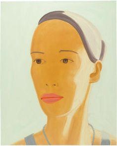 Ulla, 2008, by Alex Katz