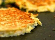 Thank you tablespoon.com  Potato Pancake recipe! Easy easy side dish to a lean ham steak or cube steak!