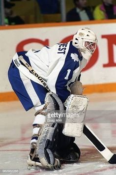 Mark LaForest (1989-90) Maple Leafs Hockey, Goalie Mask, Toronto Maple Leafs, Ice Hockey, Nhl, Photos, Vintage, Pictures, Hockey Puck