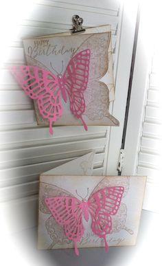 Stampin' Up!: Swallowtail stamp, Butterflies Thinlits Dies
