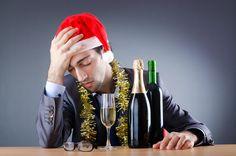 In den Weihnachtstagen ist Alkohol schwer zu umgehen…