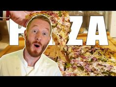PIZZA 🍕 [Recette FACILE et RAPIDE] 👨🍳🌾👩🍳 - YouTube Fast Easy Meals, Cooking Chef, Air Fryer Recipes, How To Make Bread, Crackers, Yummy Food, Delicious Recipes, Entrees, Bagel Pizza
