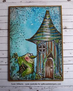 MIX185 YooHoo anyone home? by susie australia - Cards and Paper Crafts at…