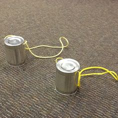 Stilts made from coffee cans, industrial cafeteria cans, or empty gallon paint cans.  Use Nylon rope as handles