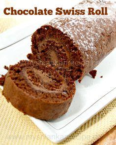 Swiss Roll Cake Recipe Sri Lanka
