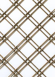 212 - AB - Wire Mesh Lattice Insert for Cabinet Doors